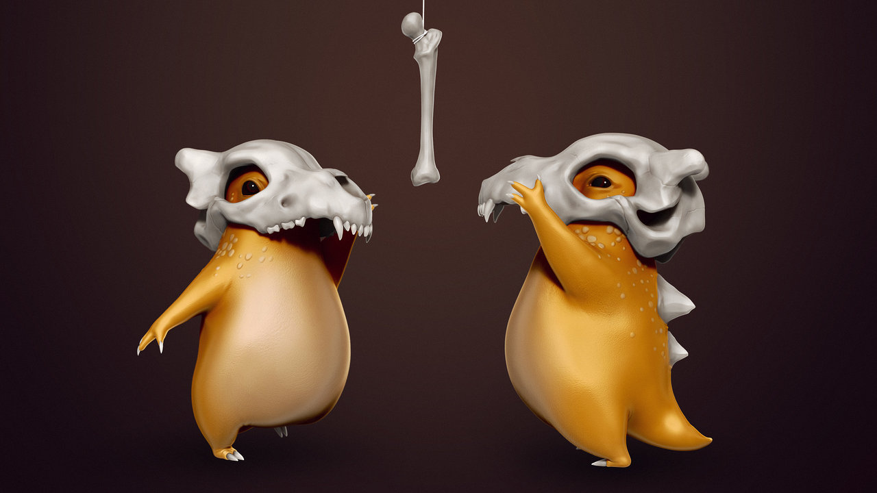 Cubone wallpaper by K4ll0 1280x720