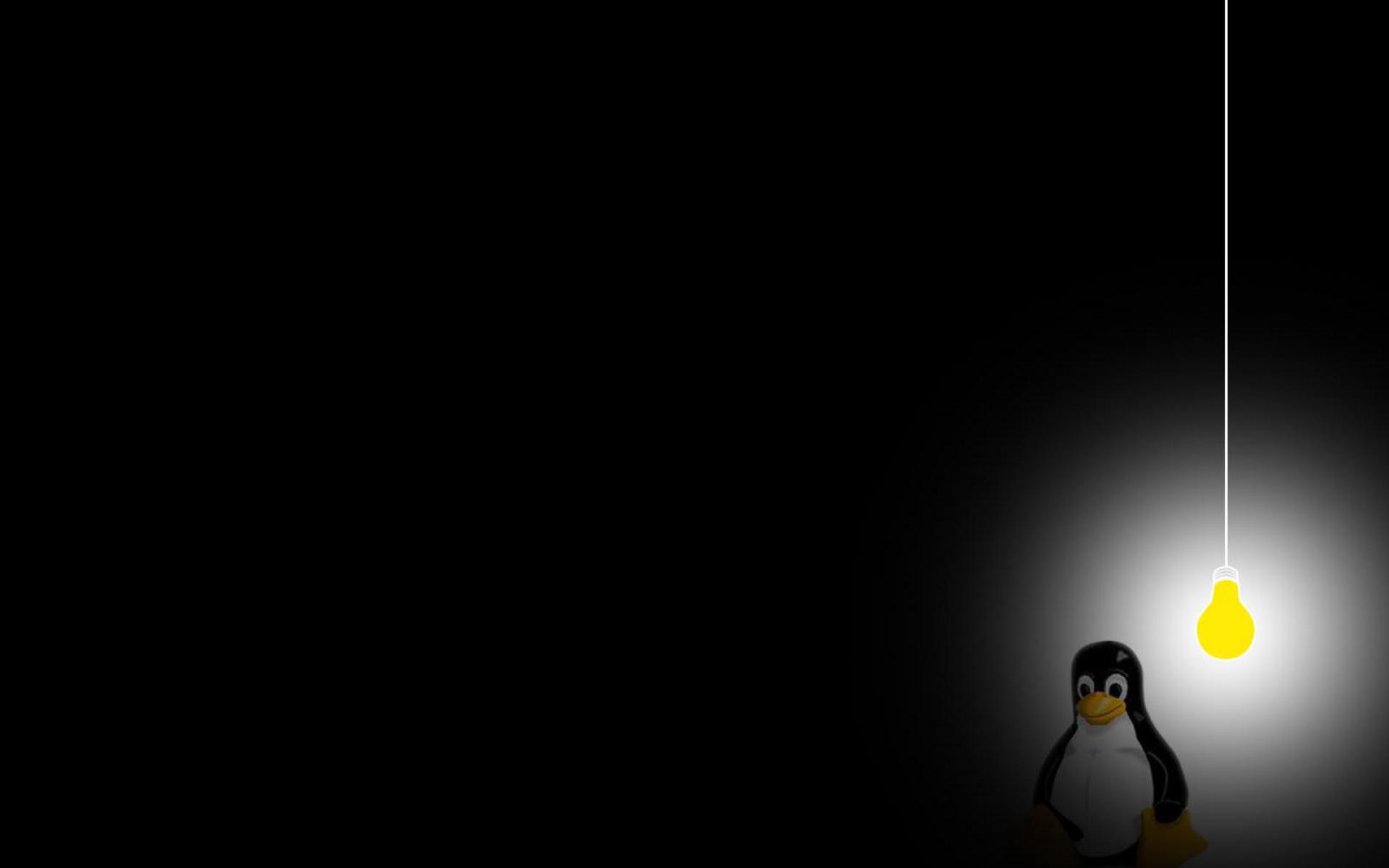 background linux desktops lightbulb wallpaper   ForWallpapercom 1920x1200