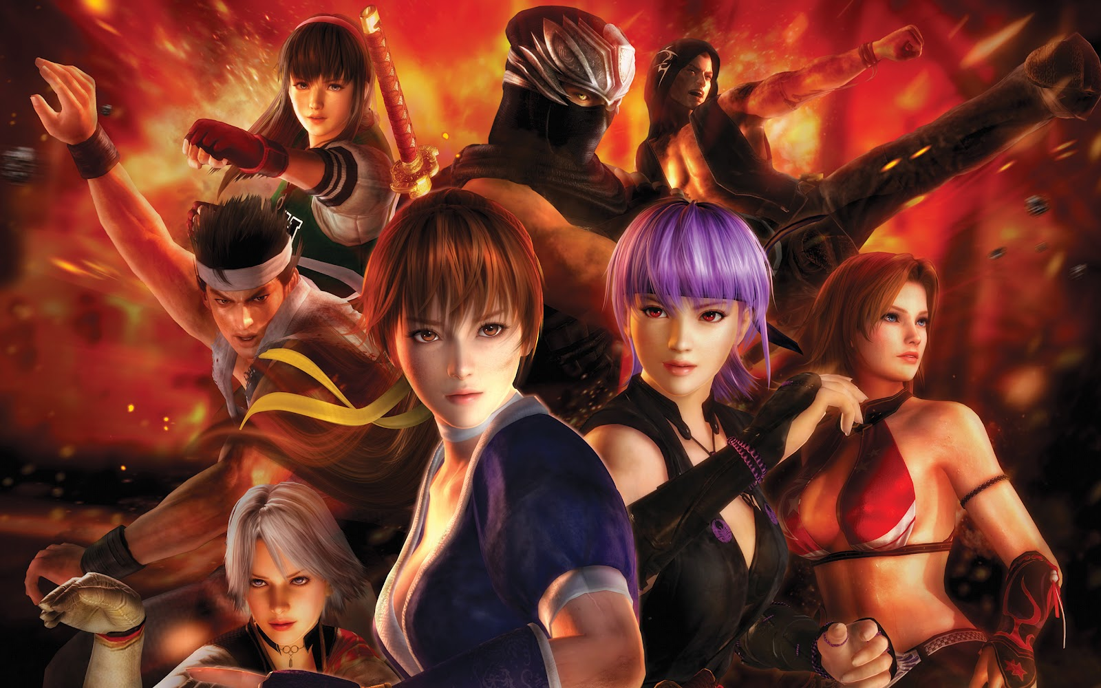 Game World Dead or Alive 5 1600x1000