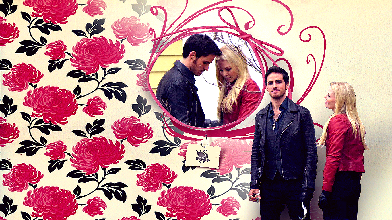 1366x768px Emma And Hook Wallpapers 1366x768