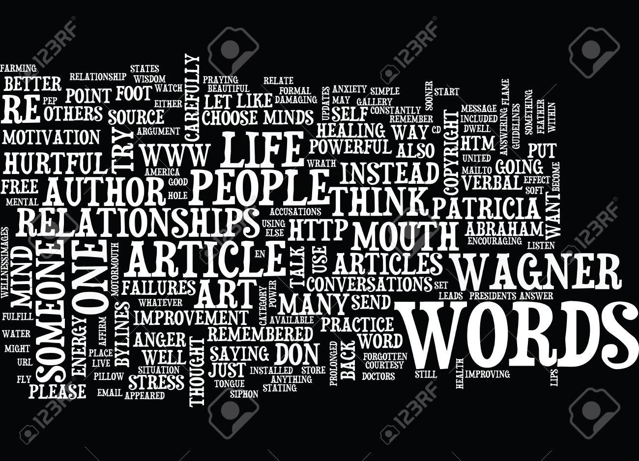 THE POWER OF HEALTHY WORDS Text Background Word Cloud Concept 1300x938