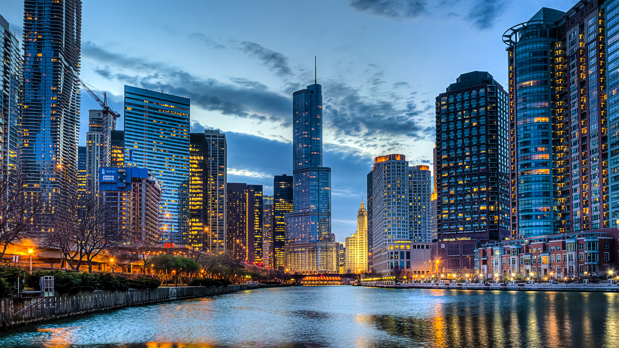 229 Chicago HD Wallpapers Background Images 2048x1152