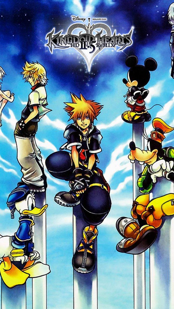 Kingdom Hearts 25 Wallpaper Kingdom hearts 25 hd remix 670x1191