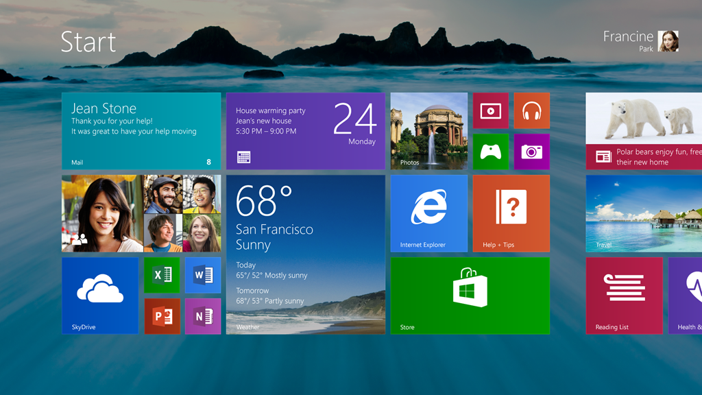 Continuing the Windows 8 vision with Windows 81 Windows Experience 1024x576