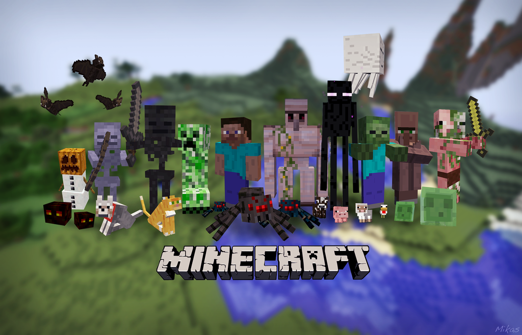 Minecraft Wallpaper Related Keywords Suggestions   Minecraft 1024x658
