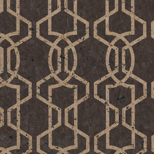 Moroccan Trellis Wallpaper: Candice Olson Lattice Wallpaper