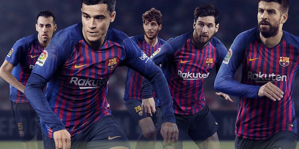 La camiseta del FC Barcelona Temporada 2018 2019 1024x512