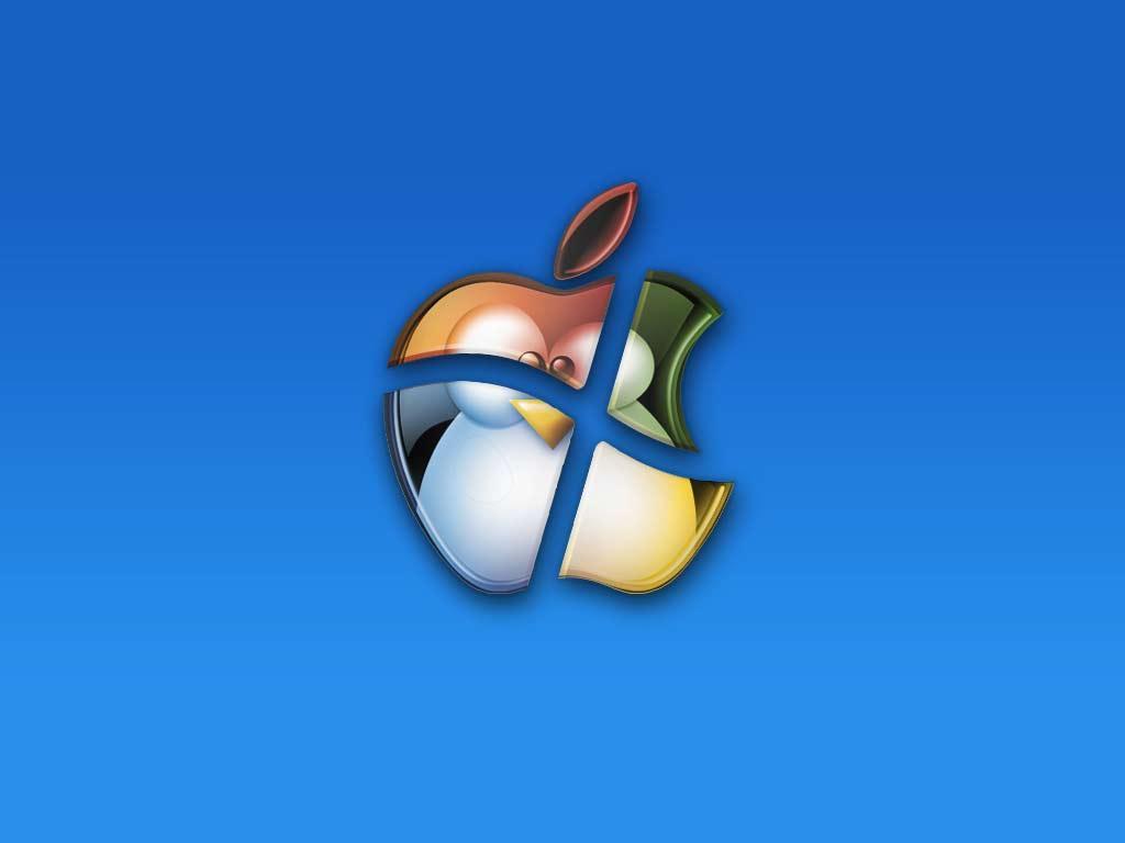 windows mac e linux papel de parede sobre windows mac e linux 1024x768