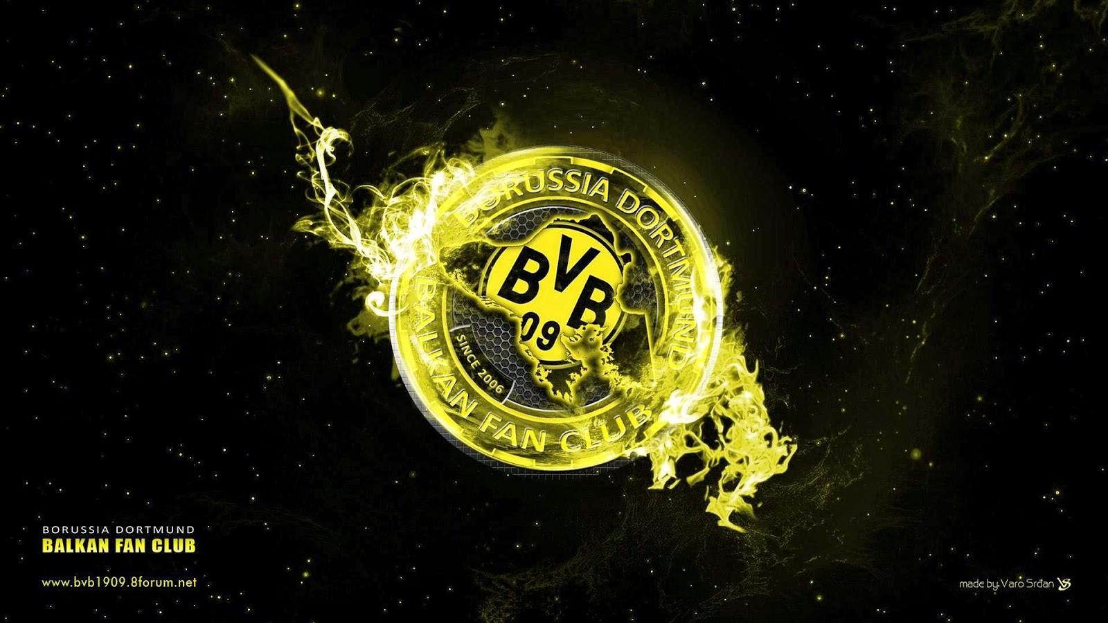 Borussia Dortmund Desktop Hintergrund Stilvoller Desktop