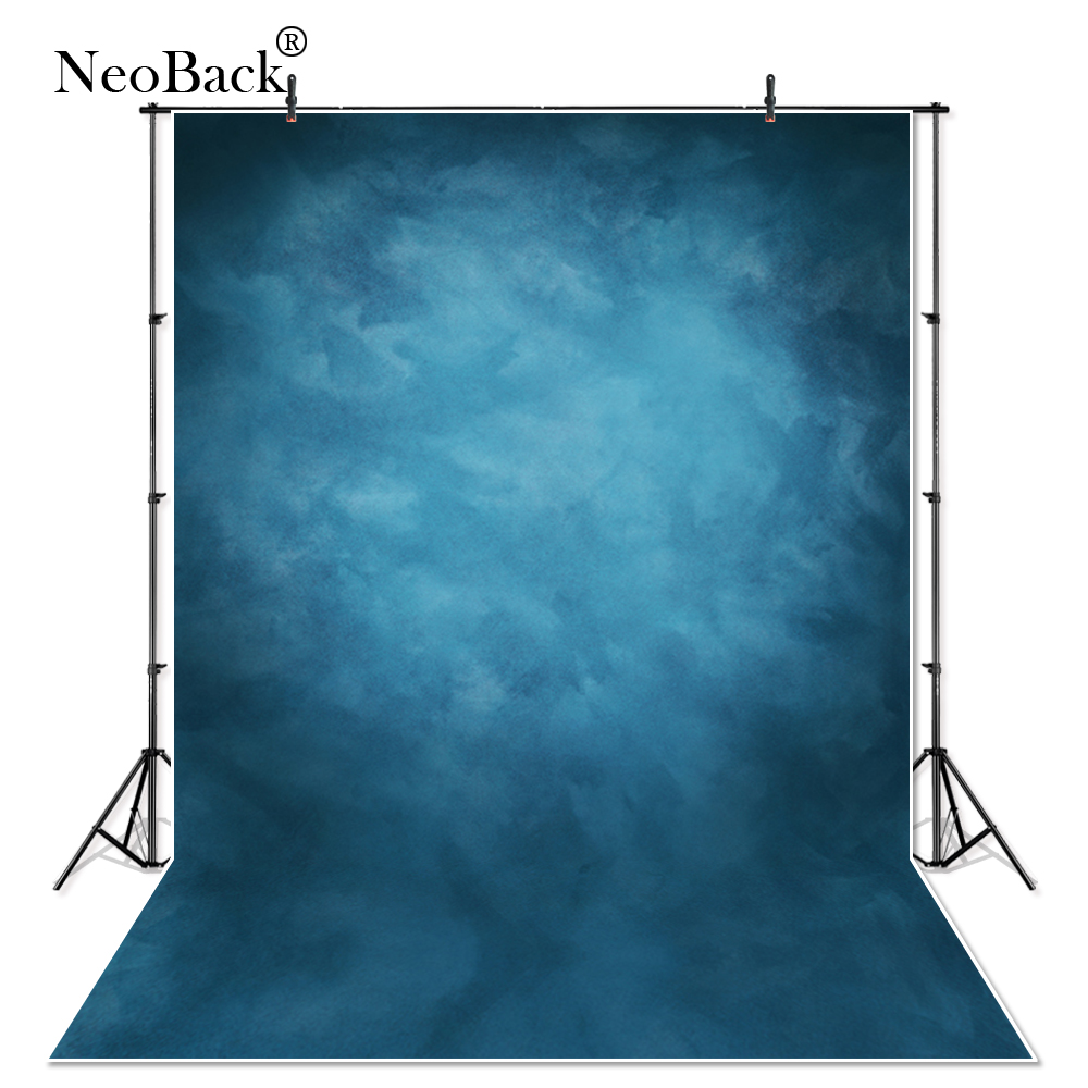 Thin Vinyl Photography Backdrop Misty Blue Backgrounds Studio 1000x1000