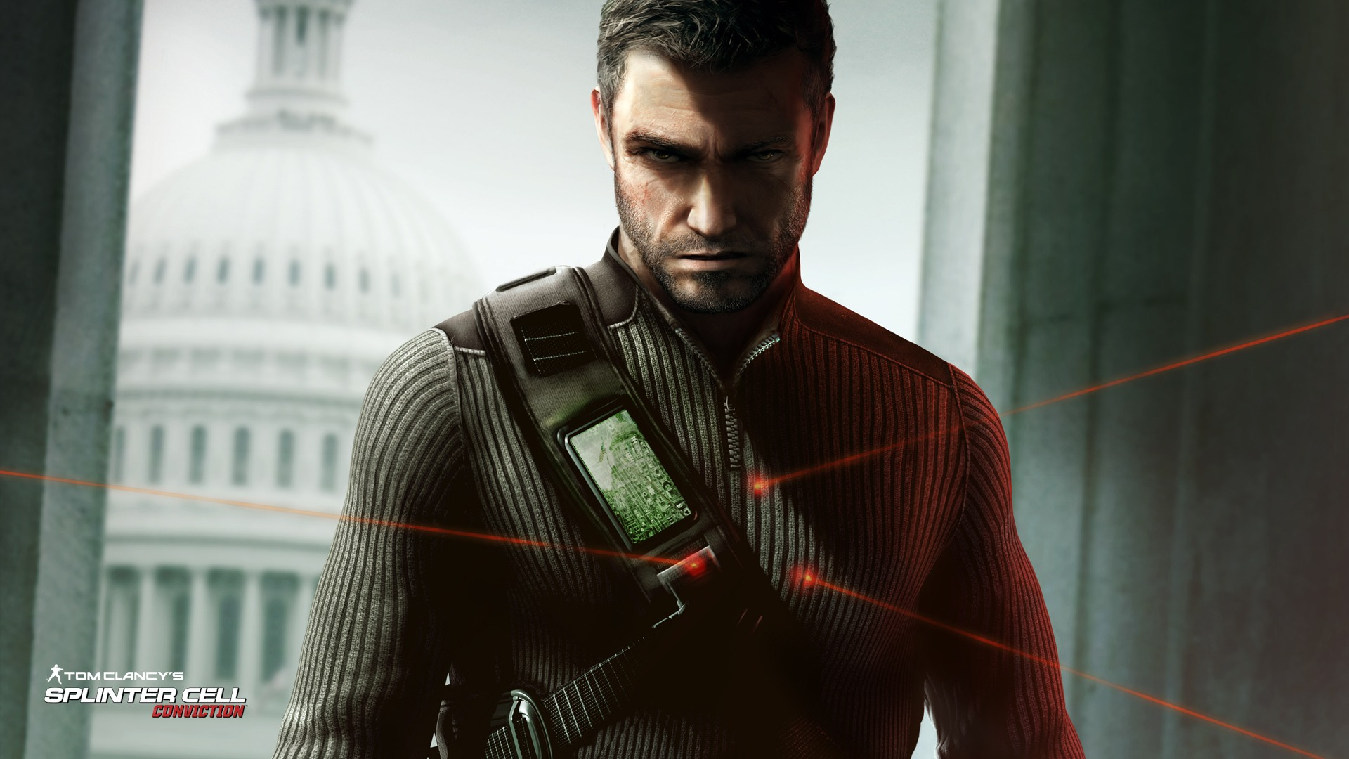 Free Download Splinter Cell Conviction Sam Fisher Wallpaper
