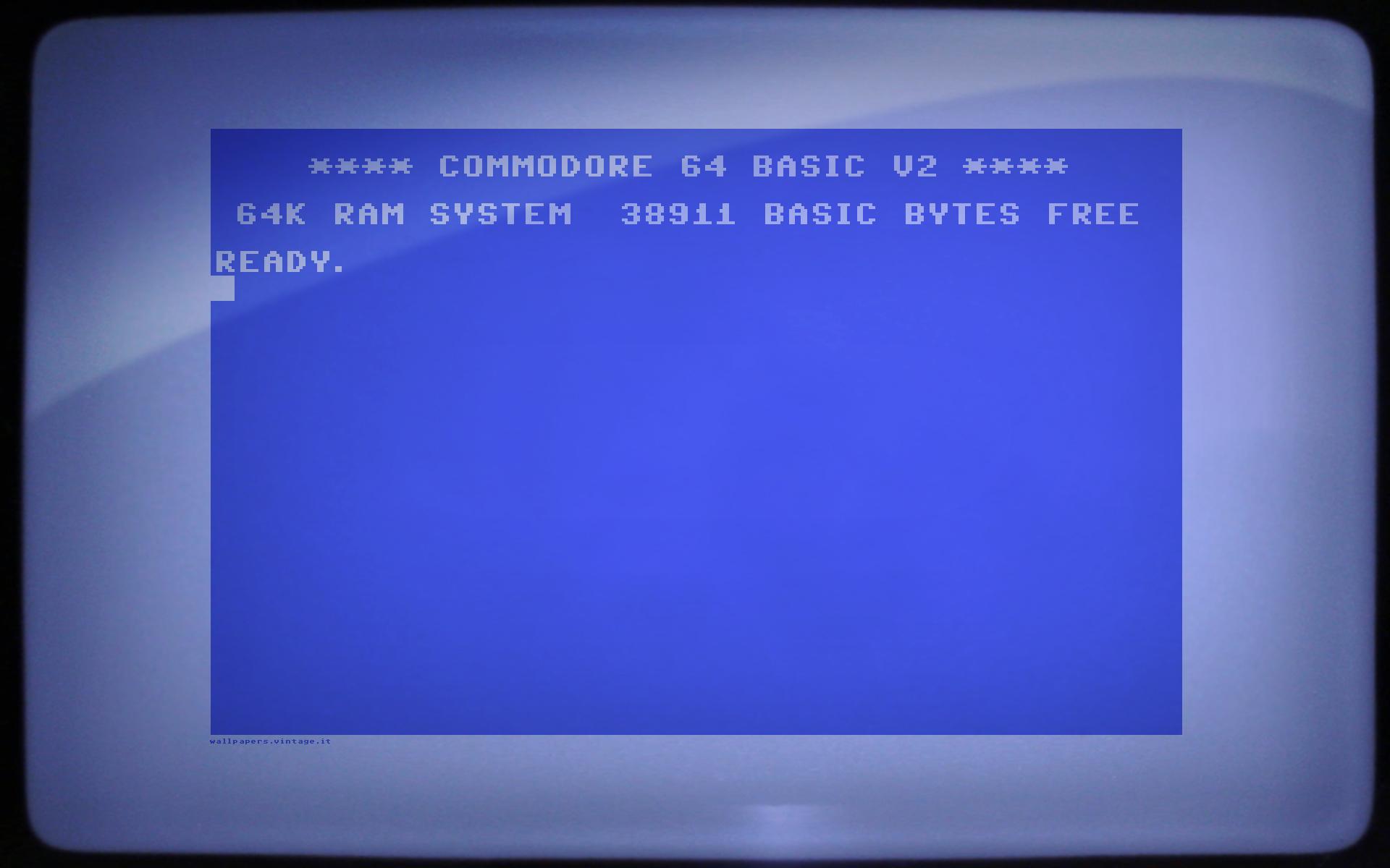 Commodore 64 Prompt wallpaper   Desktop HD iPad iPhone wallpapers 1920x1200