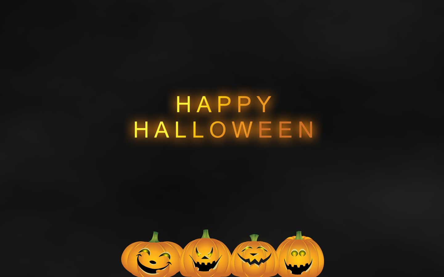 Wallpapers Happy Halloween 1440x900