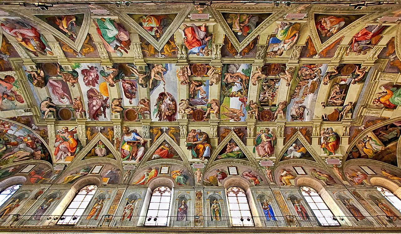 Sistine Chapel Wallpapers   Top Sistine Chapel Backgrounds 1280x748