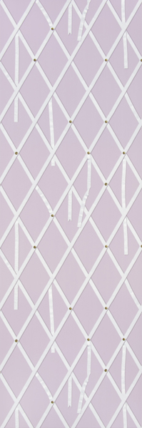 Momos Modern Lattice Trellis with Ribbons Wallpaper [ELE 42532 199x600