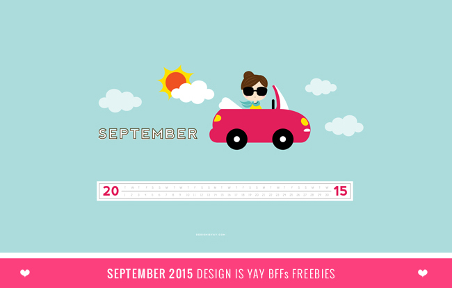 Your September 2015 Wallpaper and Planner freebies are hitting your 650x415