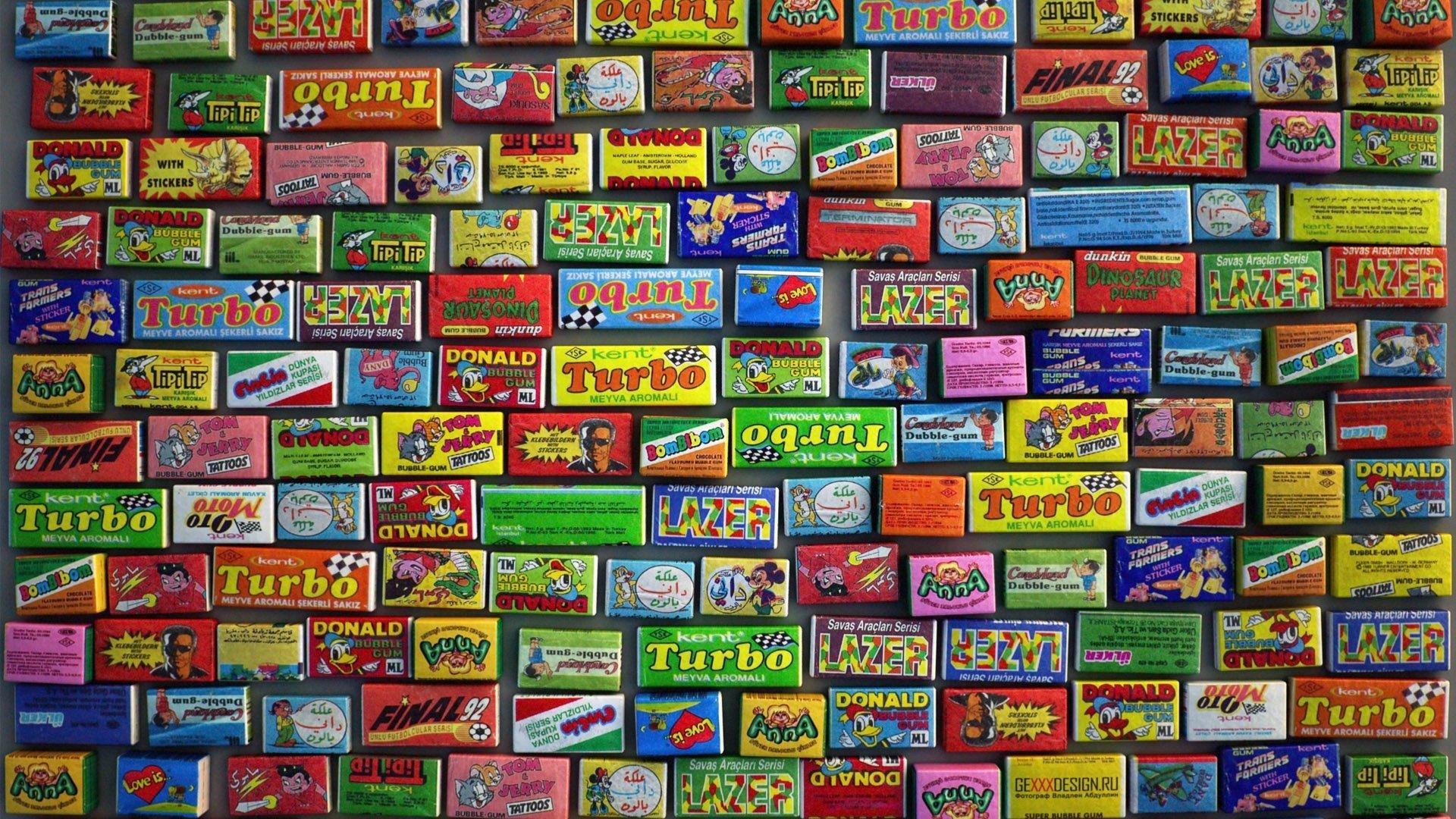 gum 80s Gummy wallpaper background 1920x1080