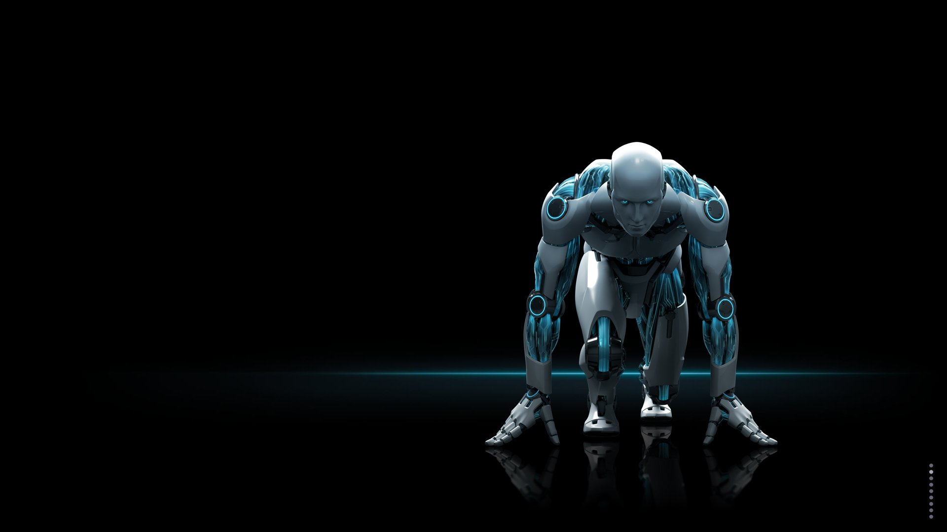 Robot Sci Fi Wallpaper Background 40614 1920x1080