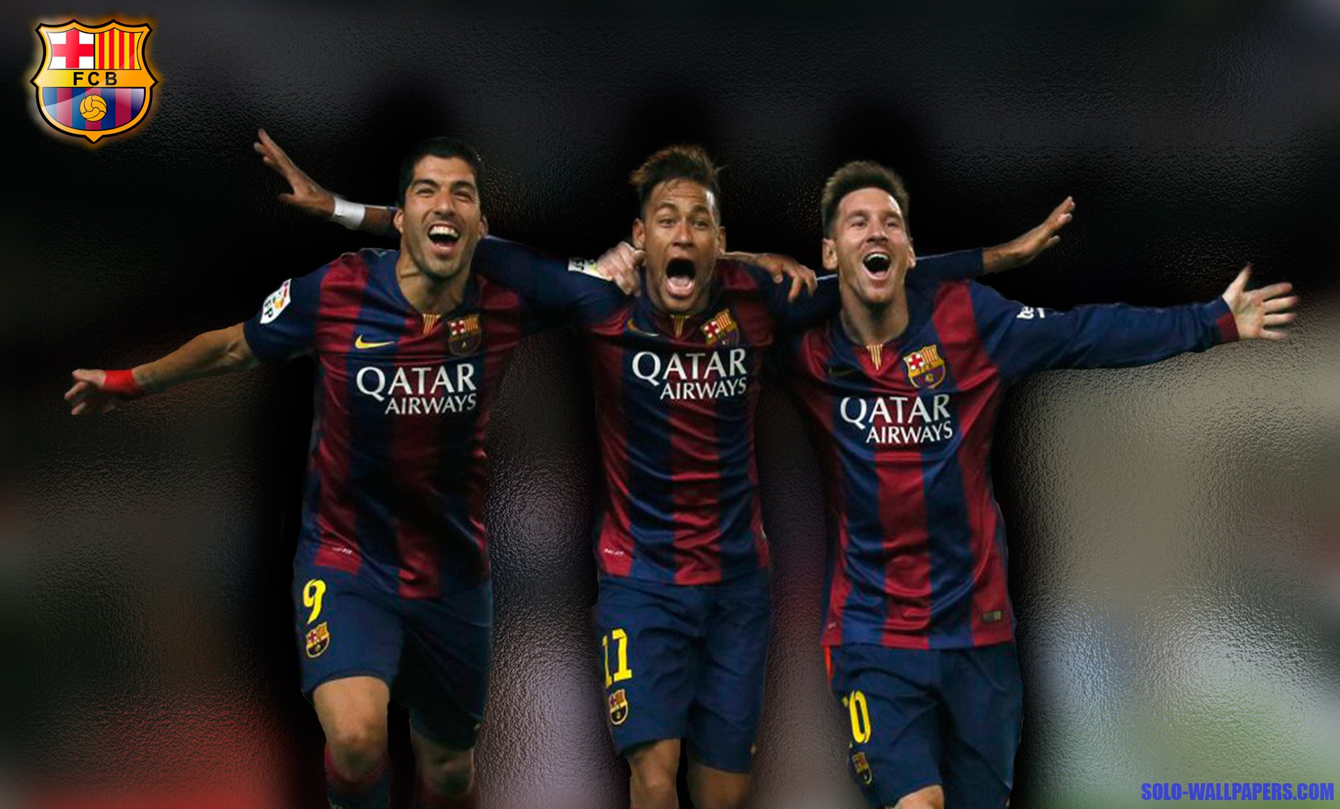 escritorio Messi Neymar y Surezwallpaper Messi Neymar y Surez 1920x1160
