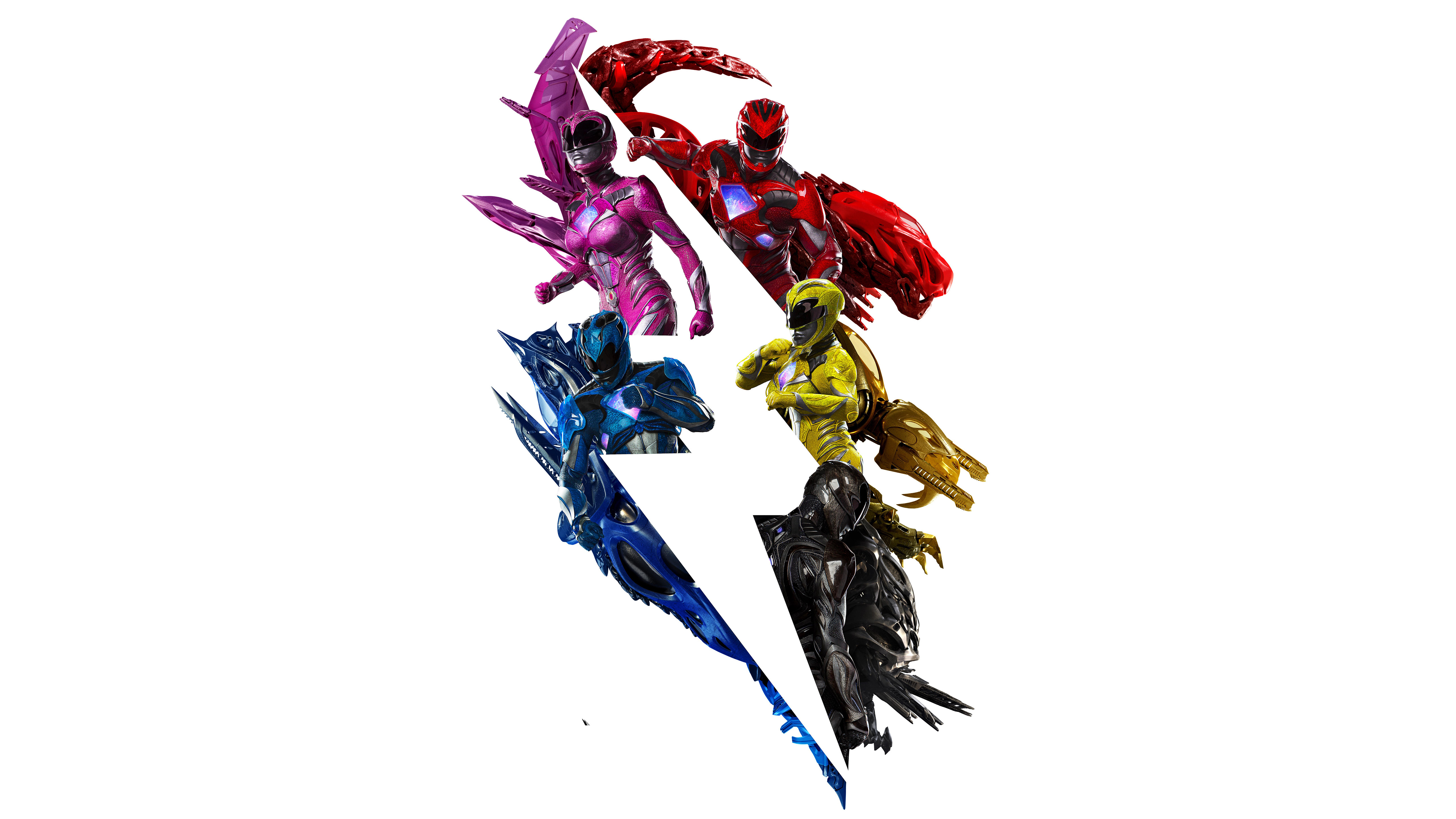 8 Zord Power Rangers HD Wallpapers Background Images 5120x2880