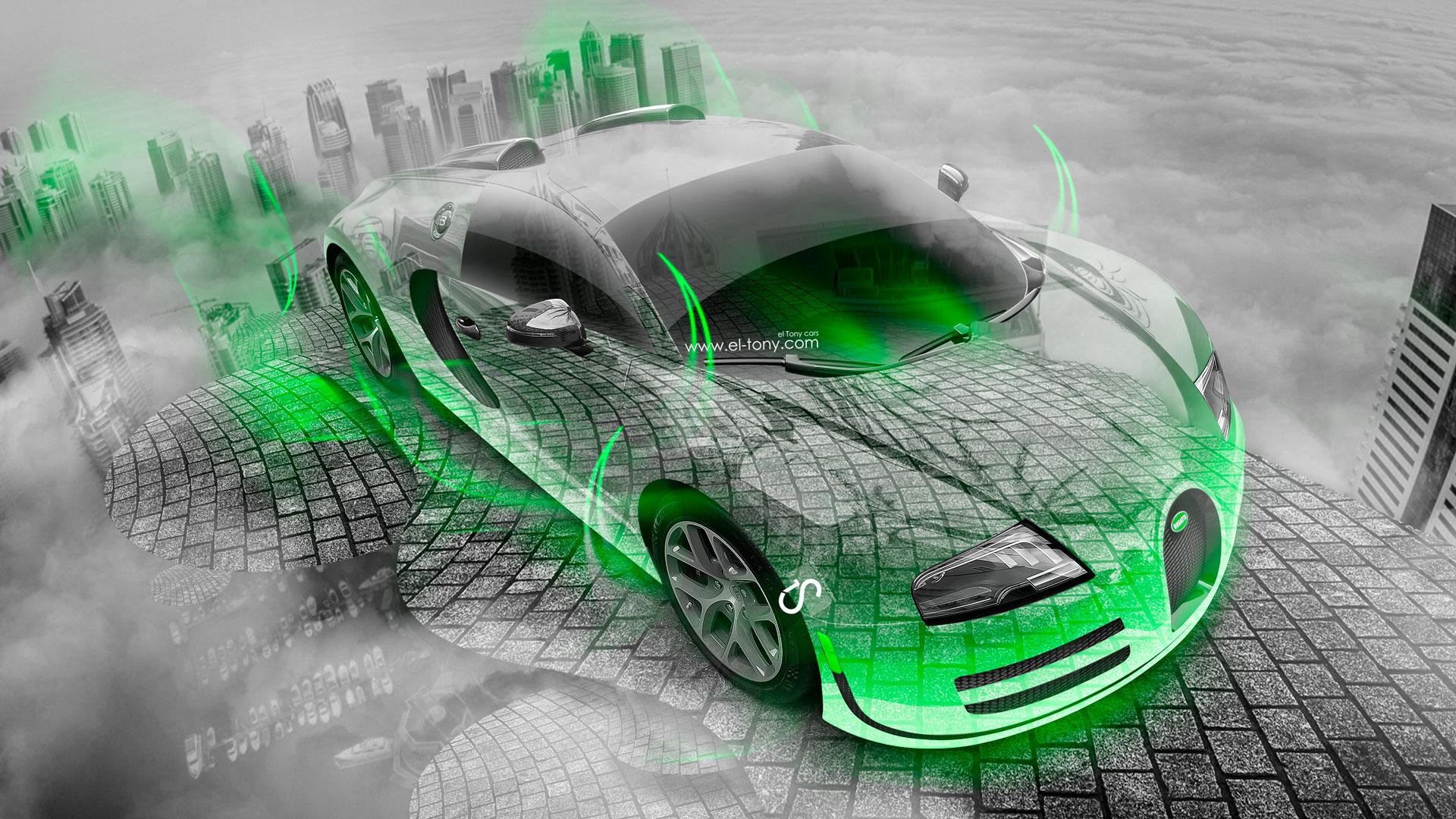 lime green bugatti veyron wallpaper - photo #3
