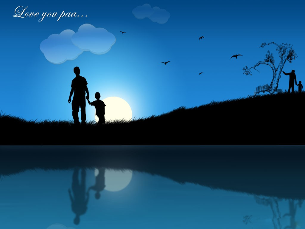 Best Fathers day wallpapers Odd Wallpapers 1024x768