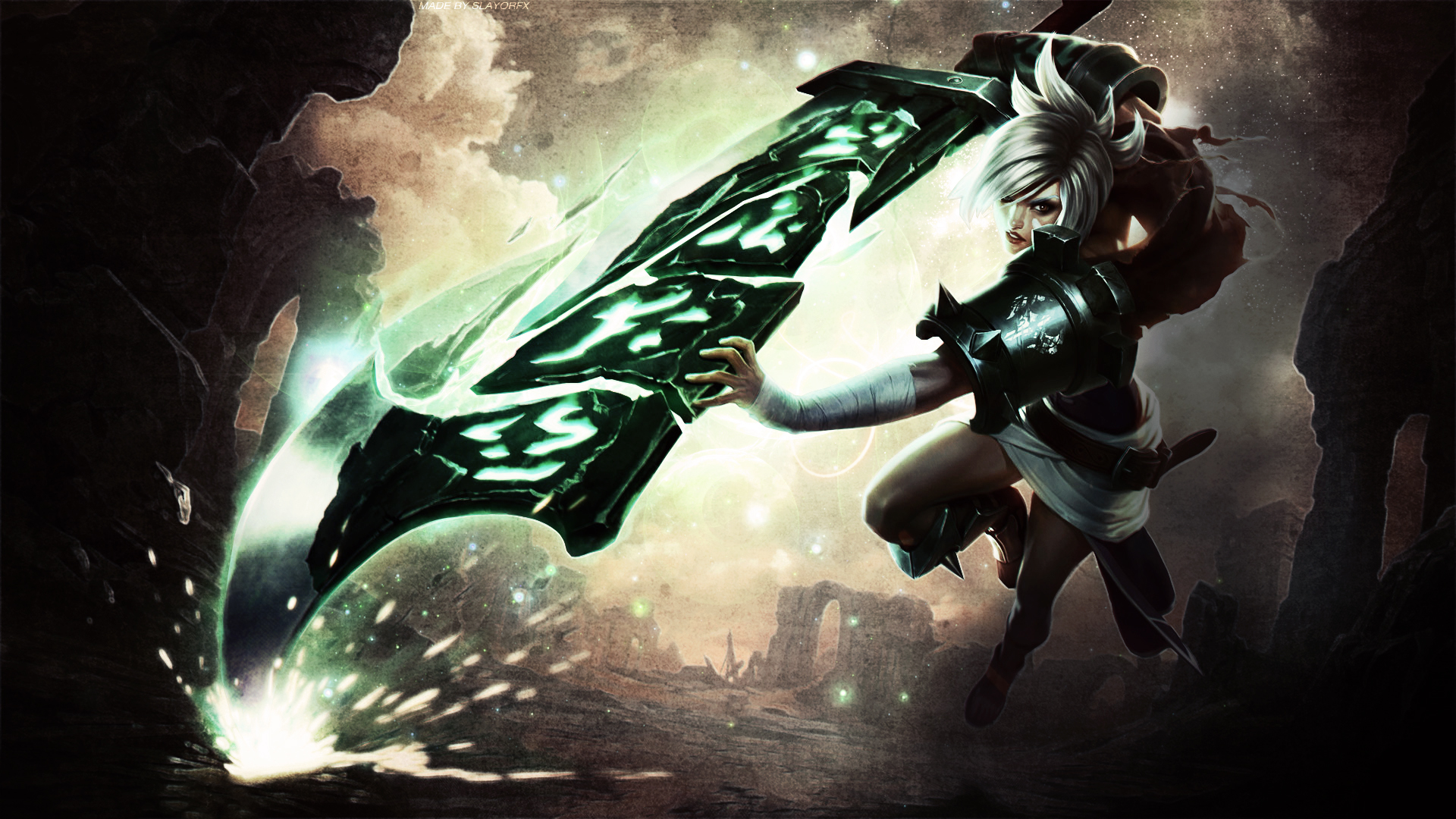 Free Download League Of Legends Wallpaper Riven League Of Legends