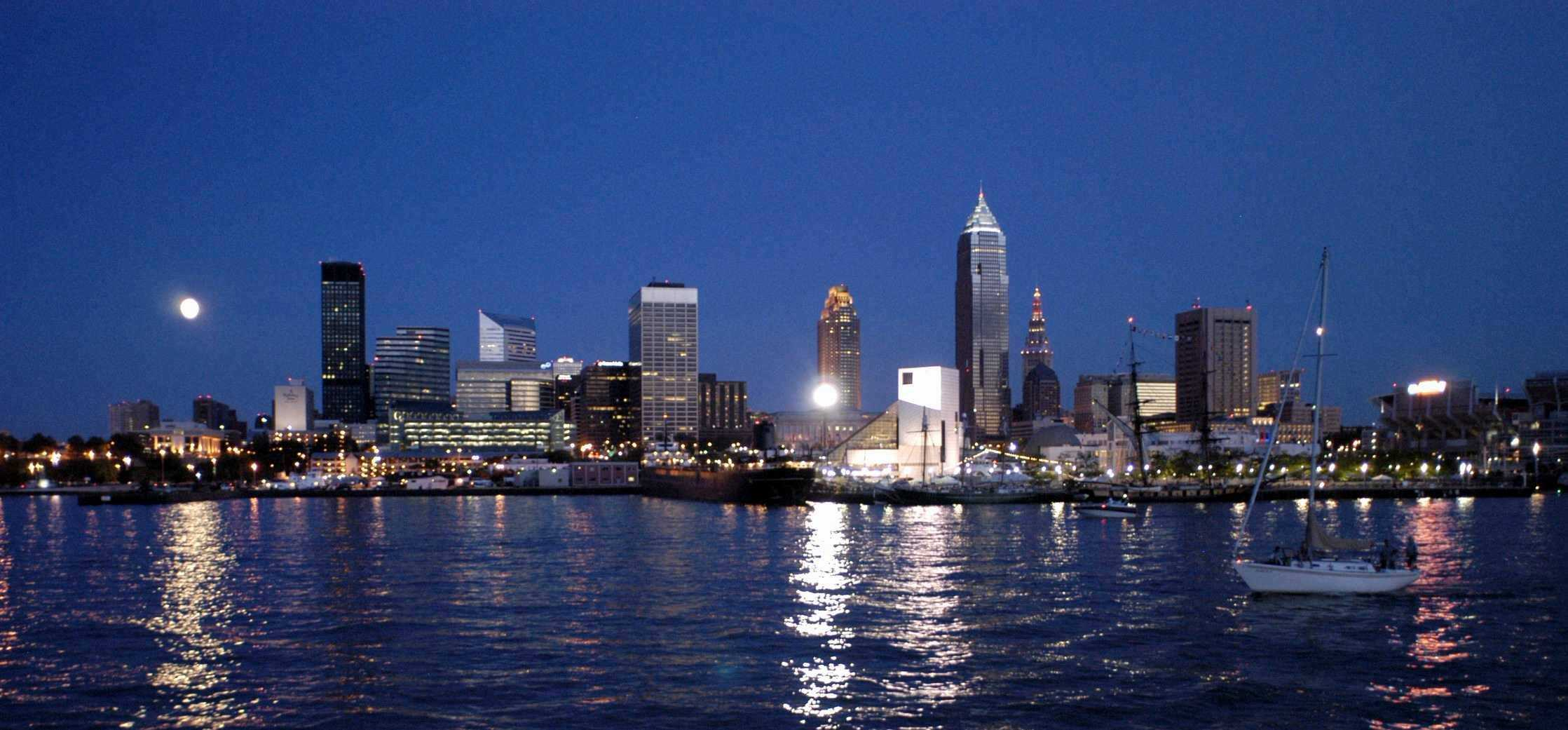 downtown cleveland ohio wallpaper - photo #8