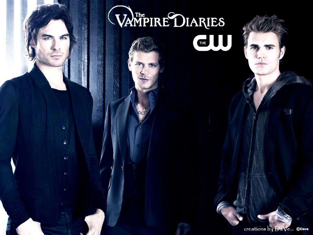 The Vampire Diaries CW originals created by DaVe the vampire diaries 1024x768