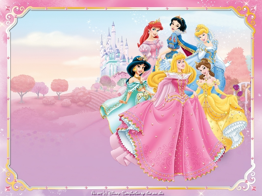 Disney Princesses   Disney Princess Wallpaper 6170514 1024x768