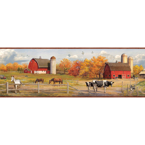 Borders by Chesapeake Jonny American Farmer Portrait Scenic Wallpaper 500x500