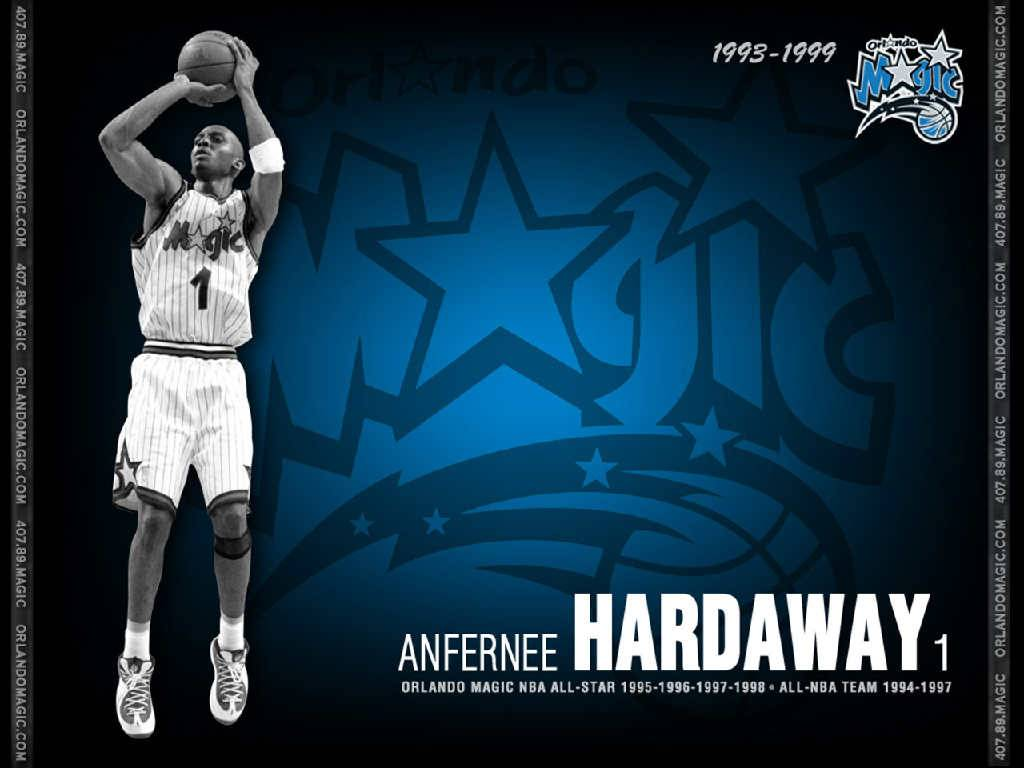 Anfernee Hardaway Orlando Magic Wallpaper   Orlando Magic 1024x768