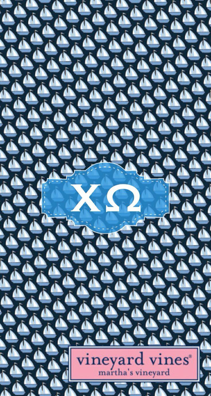 Chi omega iphone monogram background using MonogramApp by Liana Louie 736x1377