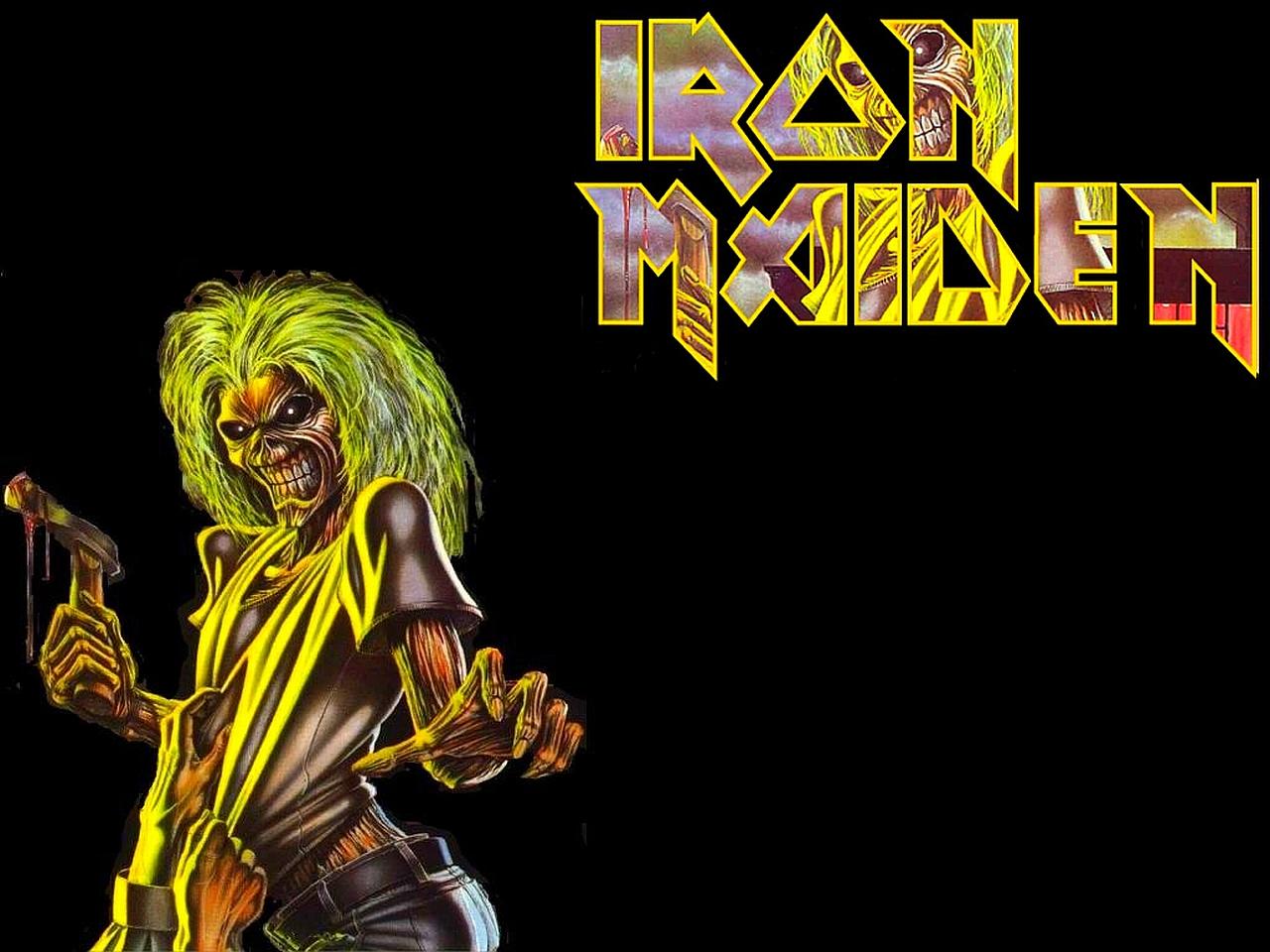 Iron Maiden Desktop Wallpaper: Iron Maiden Logo Wallpaper