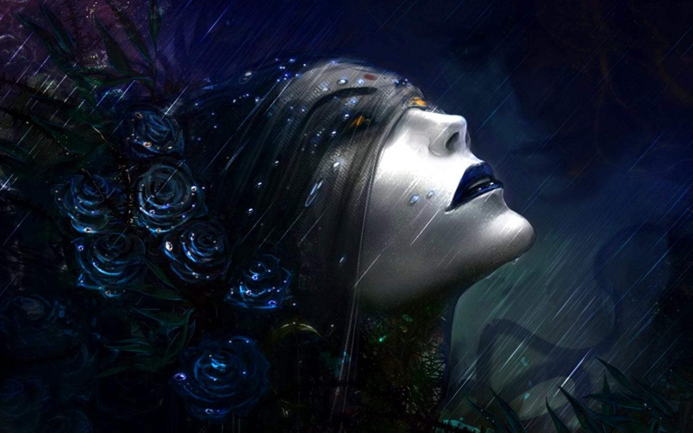Dark mood gothic girl art wallpaper 1440x900 220491 WallpaperUP 1440x900