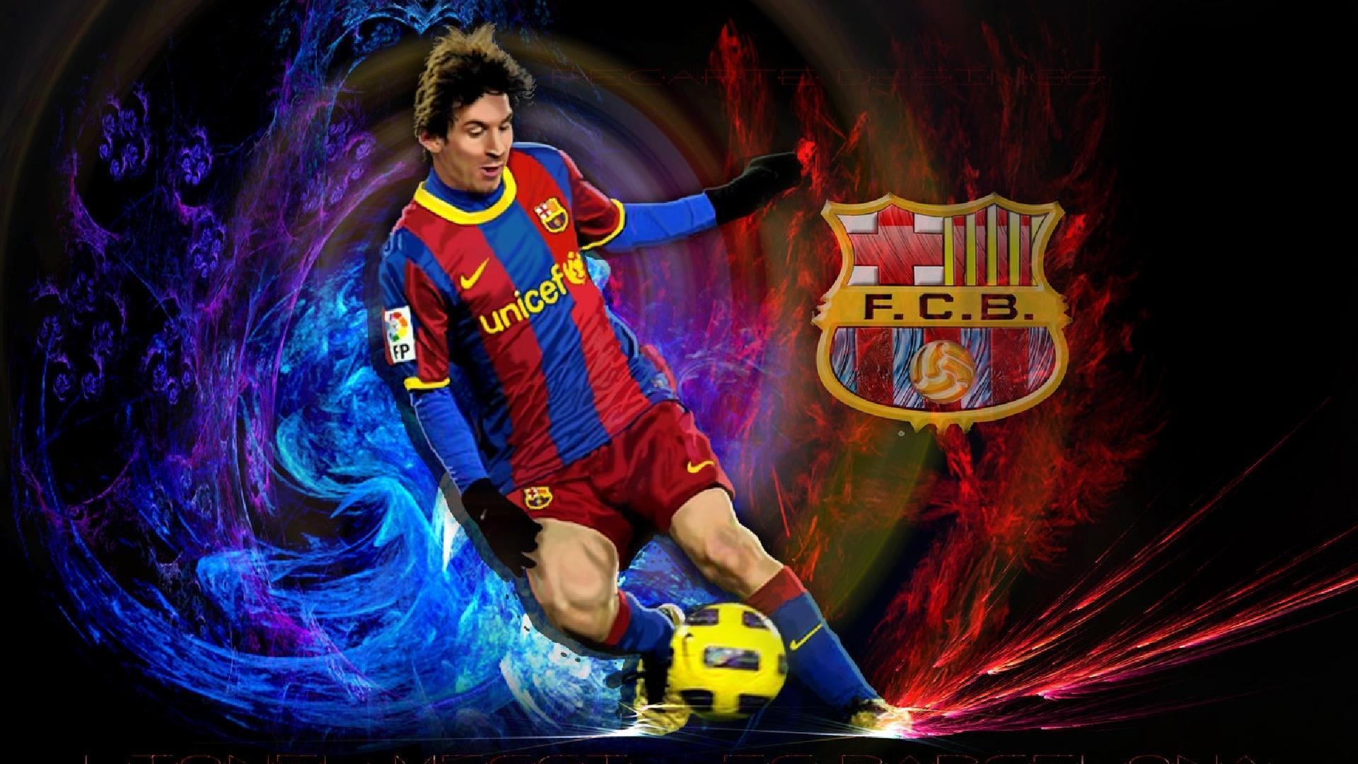 Messi Sport Club Barcelona Full HD Desktop Wallpapers 1080p 1920x1080