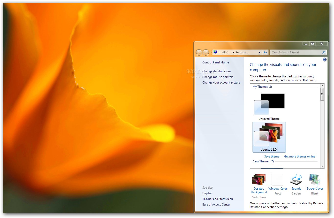 Ubuntu 1204 Theme Download   Softpedia 1365x890