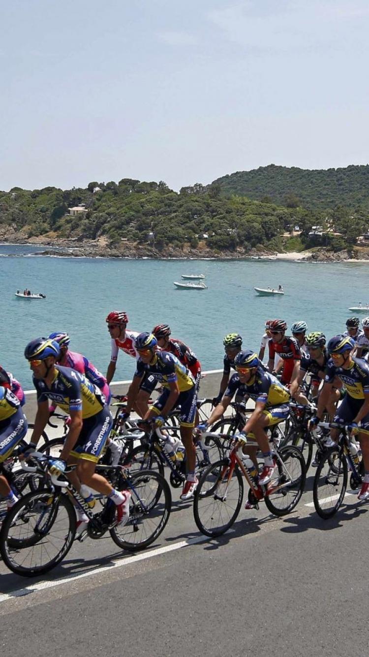 Tour de france cycling sports wallpaper 45550 750x1334