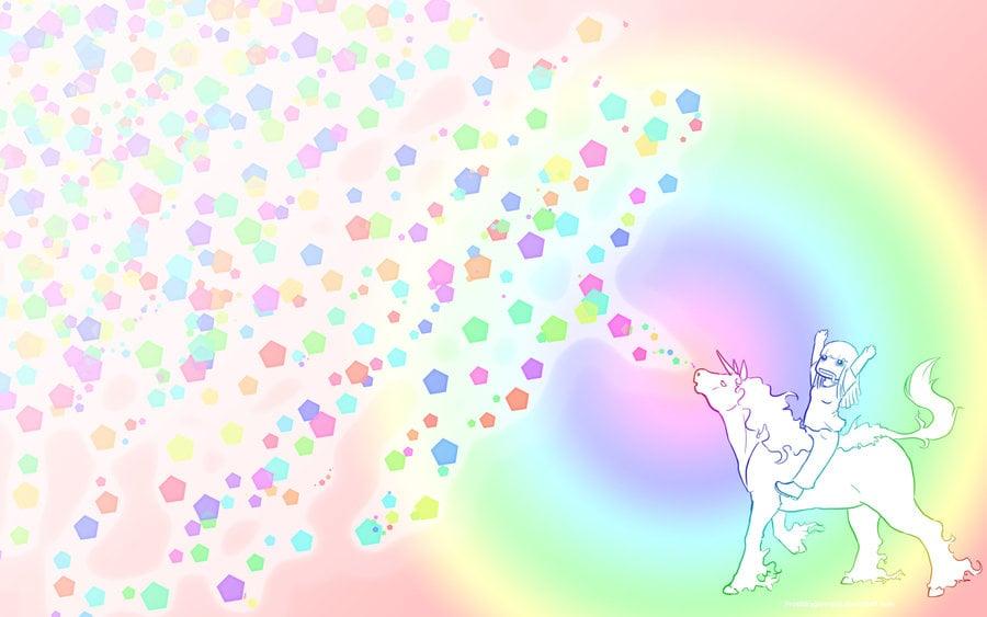 Unicorn Rainbow Wallpapers 48 900x563