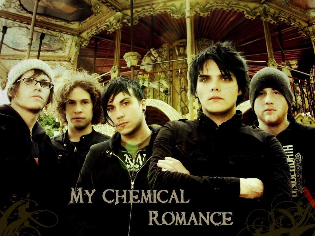 My Chemical Romance Backgrounds 1024x768