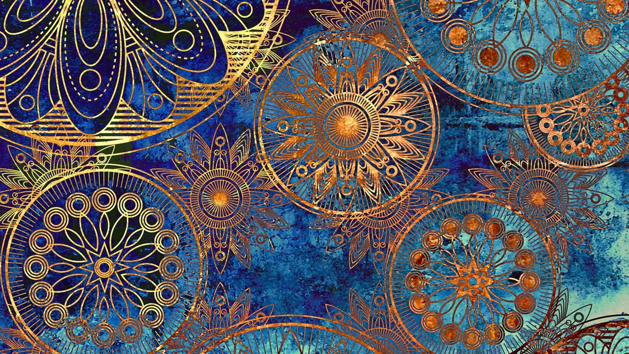 Art Deco Desktop Wallpaper LS