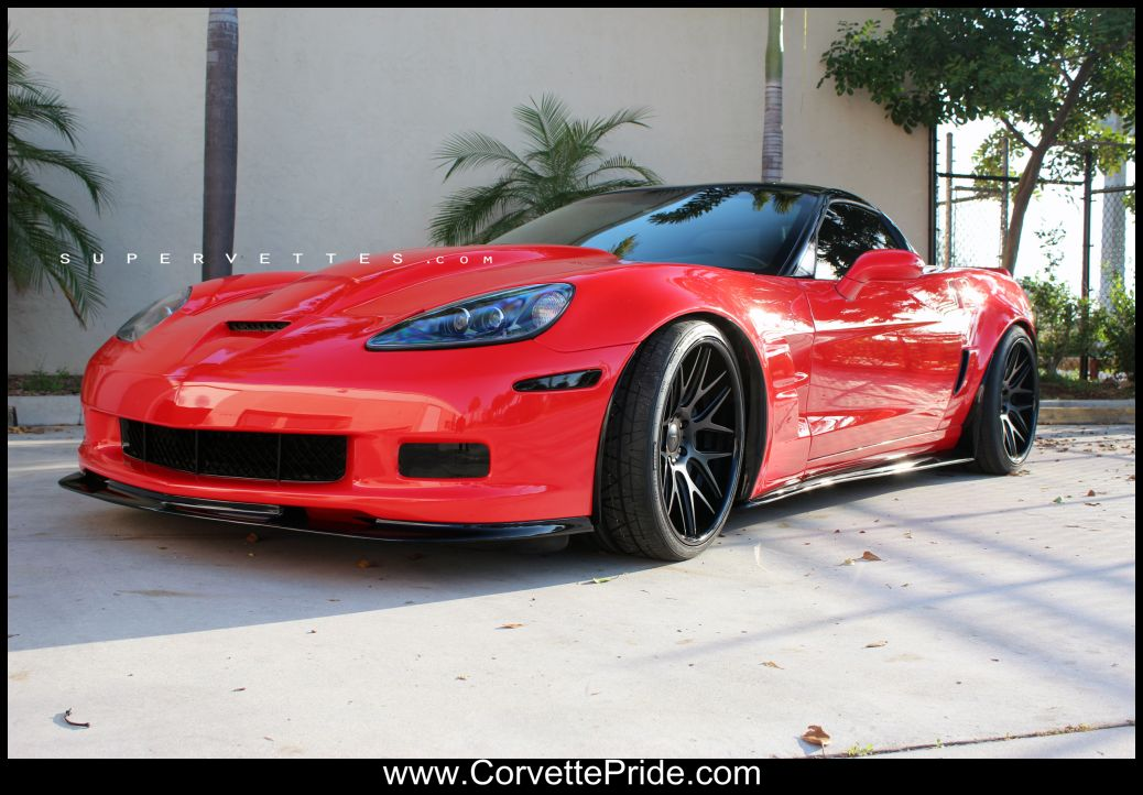Red Corvette C6 >> Corvette C6 Convertible Wallpaper - WallpaperSafari