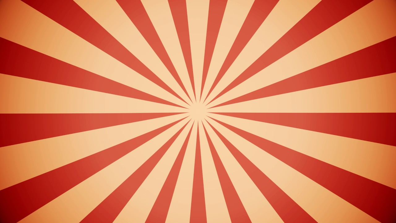 FREE] BACKGROUND CIRCUS RED GOLD 1280x720
