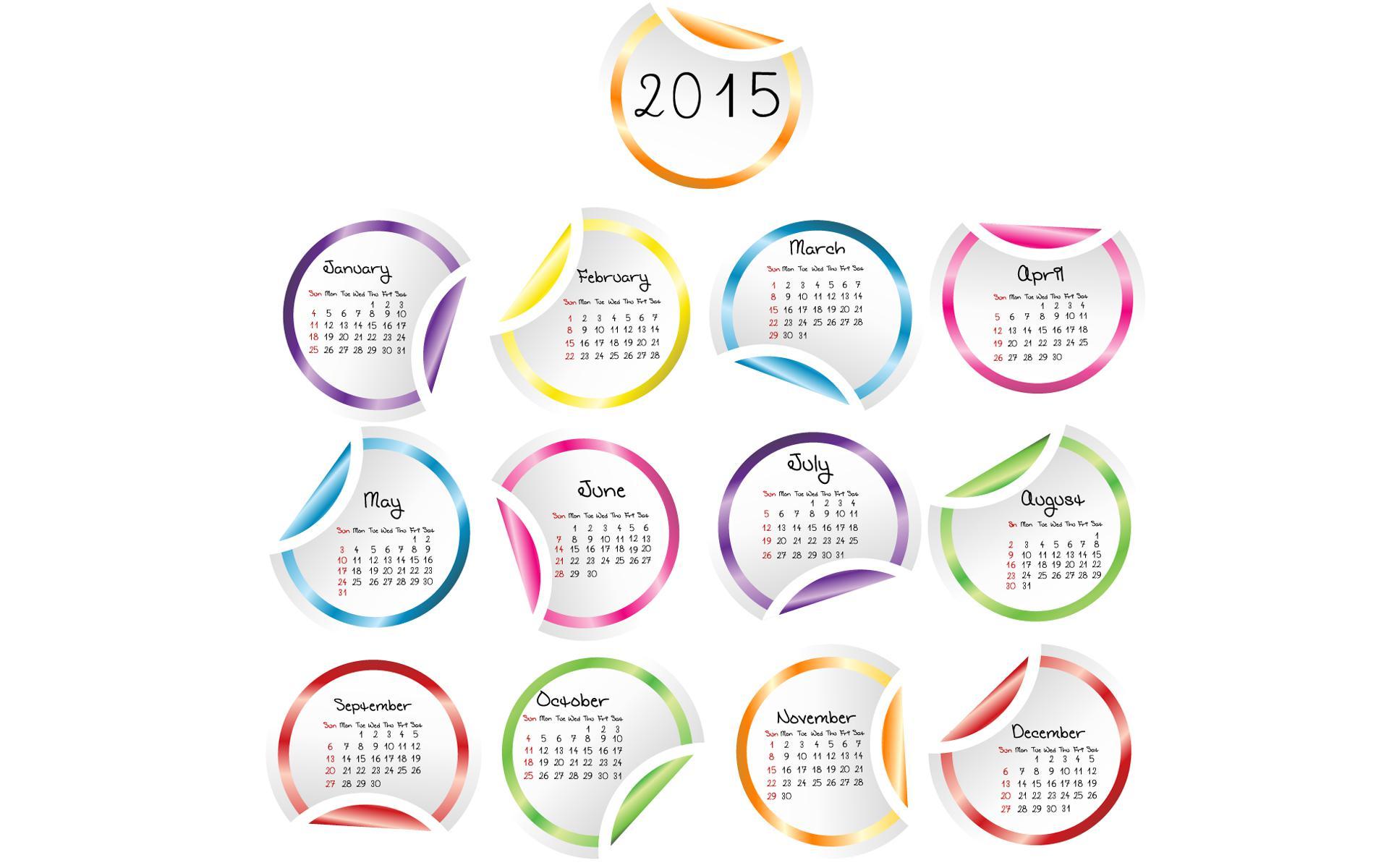2015 Year Calendar Wallpaper Download 2015 Calendar by Month 1920x1200