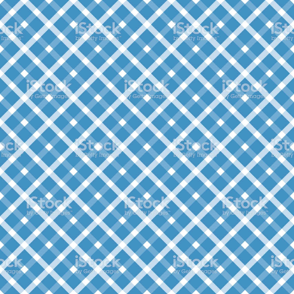 Seamless Blue White Checkered Oktoberfest Background Stock 1024x1024