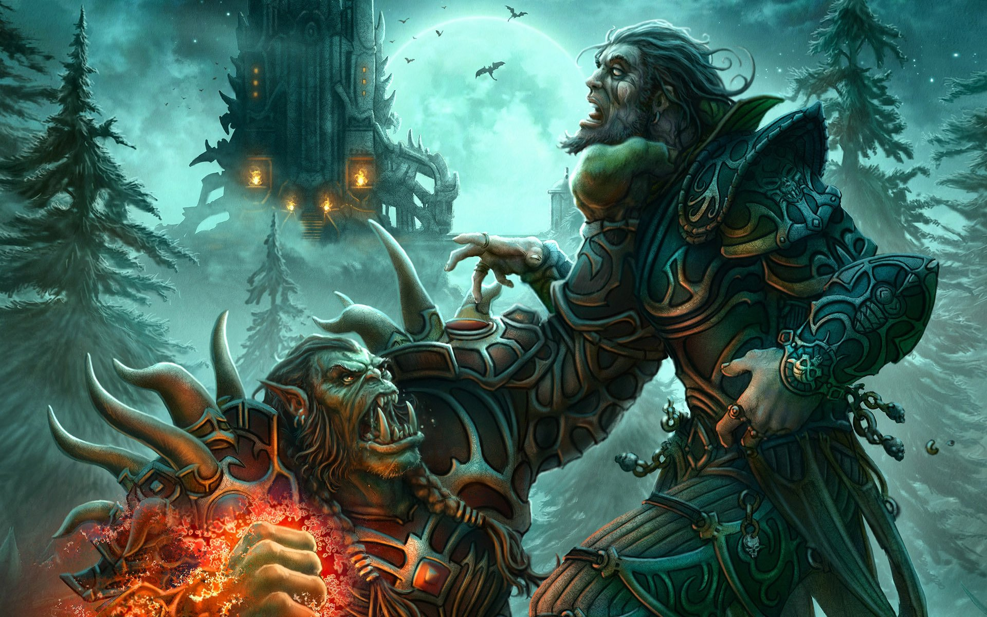 World of Warcraft Orc wallpapers World of Warcraft Orc 1920x1200