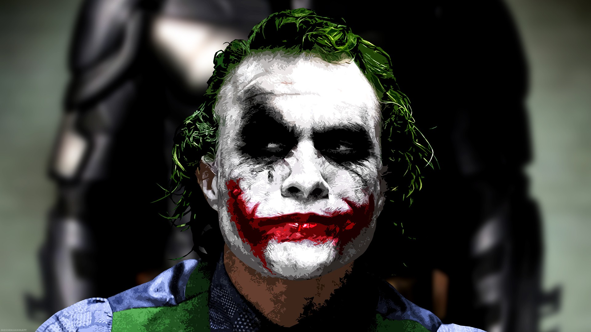 The Joker Heath Ledger Wallpaper Images Pictures   Becuo 1920x1080