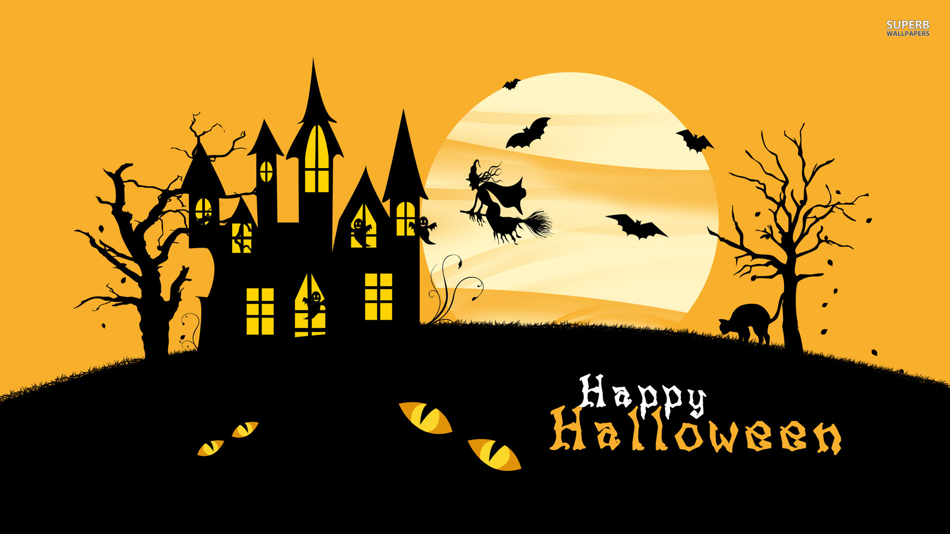 75 Happy Halloween Wallpapers For Mobile Desktop iPhone Happy 1920x1080