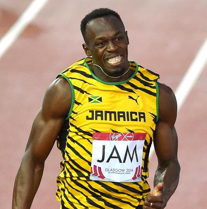 Usain Bolt. Pic/AFP
