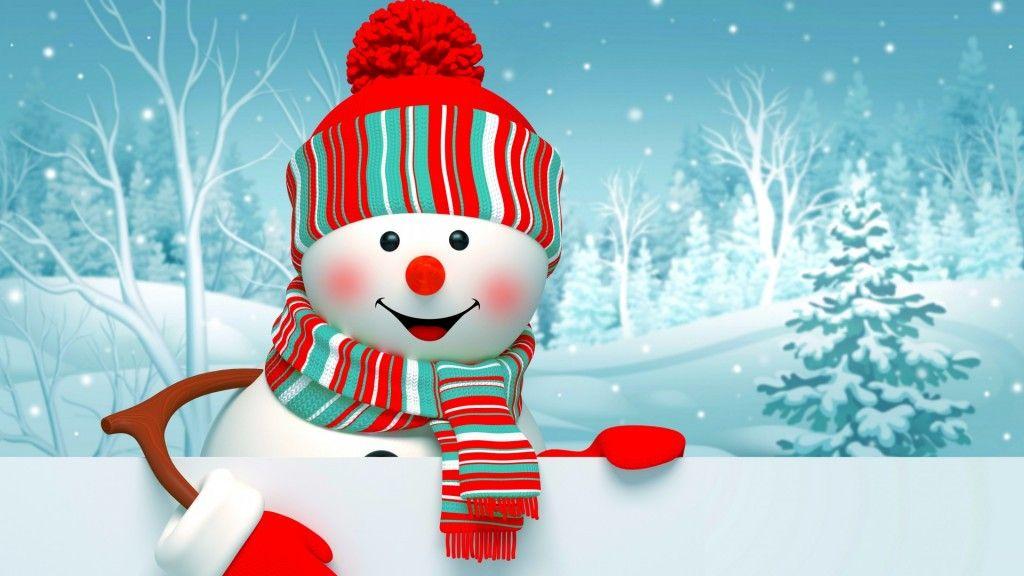 Snowman Wallpaper   for Christmas Christmas Desktop Wallpapers 1024x576